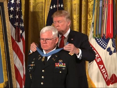 Trump Awards Medal of Honor to Ret. Army Medic