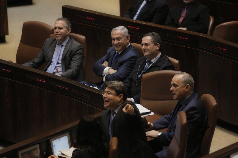 Benjamin Netanyahu, Gilad Erdan, Yisrael Katz, Yuval Steinitz, Ofir Akunis