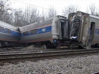 South Carolina Amtrak Data Recorder Recovered