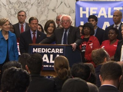 Sanders Unveils 'Medicare For All' Bill