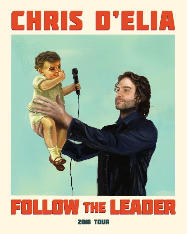 "Chris D'Elia's ""Follow The Leader Tour"" Comes to SugarHouse Casino"