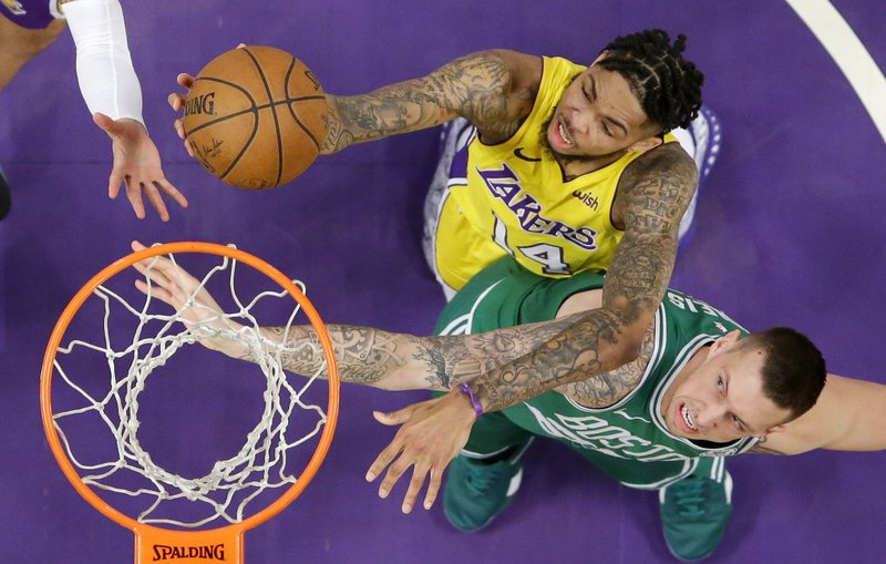 Brandon Ingram, Daniel Theis