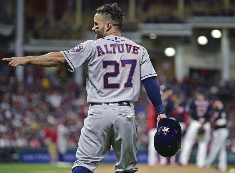 low priced c5d11 f1b34 Astros rally vs Miller, pour it on for 11-2 win over Indians