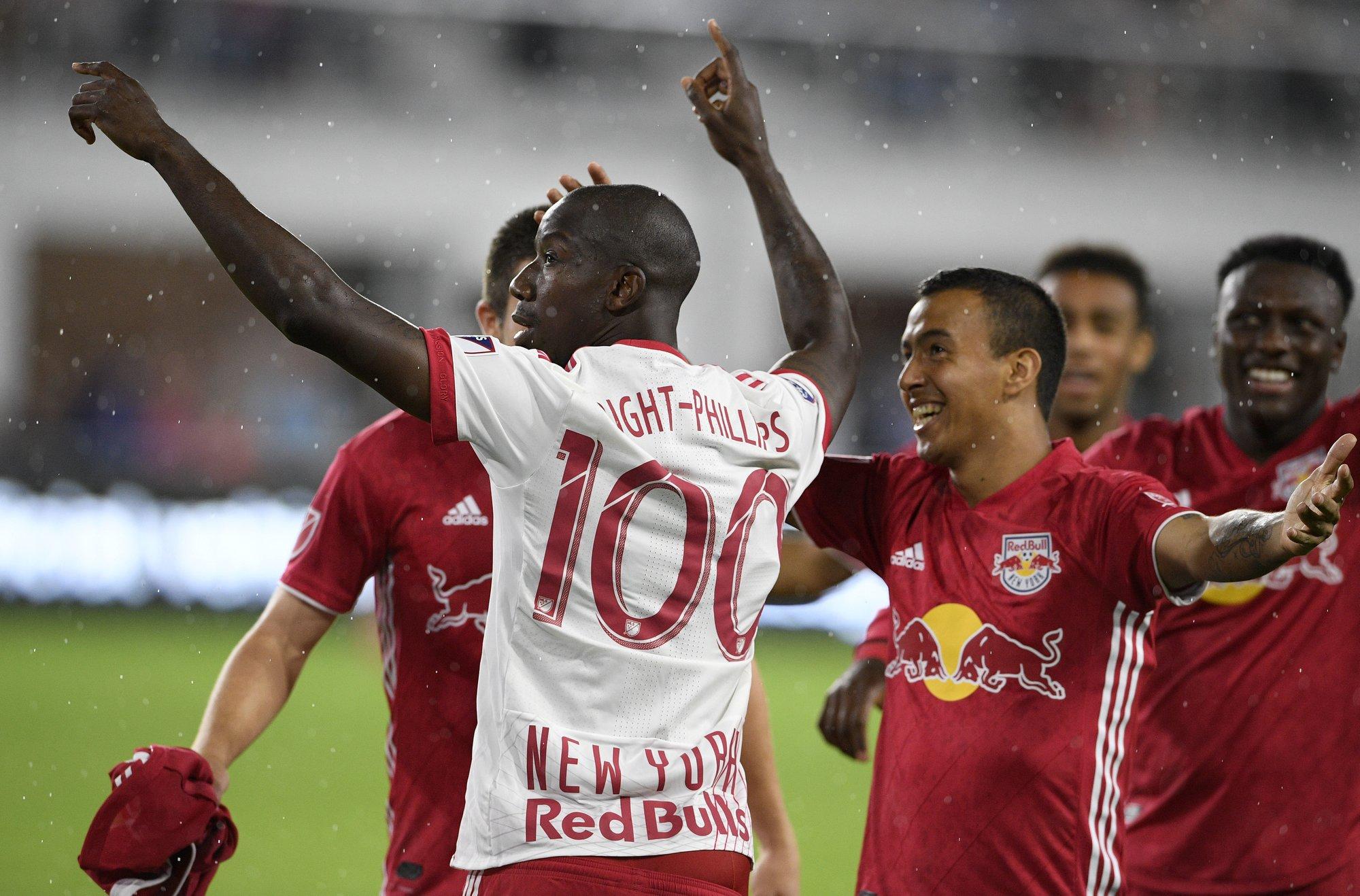 Red Bulls' Bradley Wright-Phillips fastest to 100 MLS goals