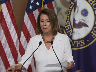 Pelosi Asks What Russia Has on Trump
