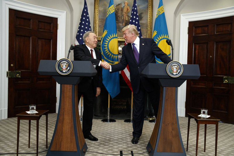 Donald Trump, Nursultan Nazarbayev