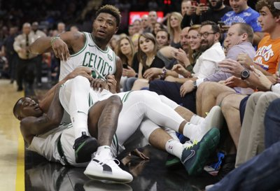 0287f6700 NEW YORK (AP) — The NBA has fined Boston Celtics guard Marcus Smart and  forward Aron Baynes and Cleveland Cavaliers forward J.R. Smith for an on-court  ...