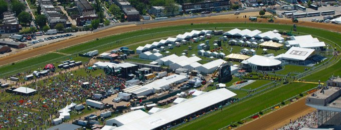 Pimlico Race Course Lights Up the 2018 Preakness Stakes Events With Aruba's Wi-Fi