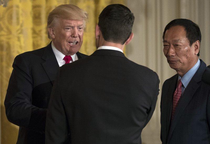 Donald Trump, Paul Ryan, Terry Gou