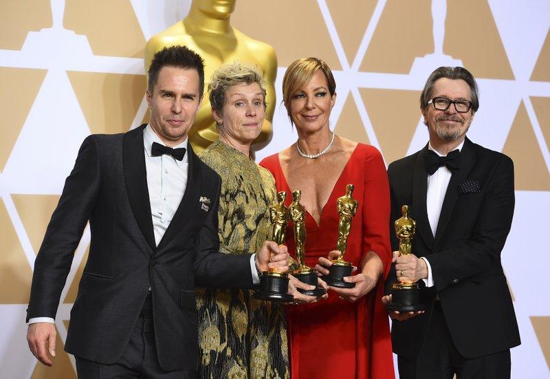 Sam Rockwell, Frances McDormand, Allison Janney, Gary Oldman