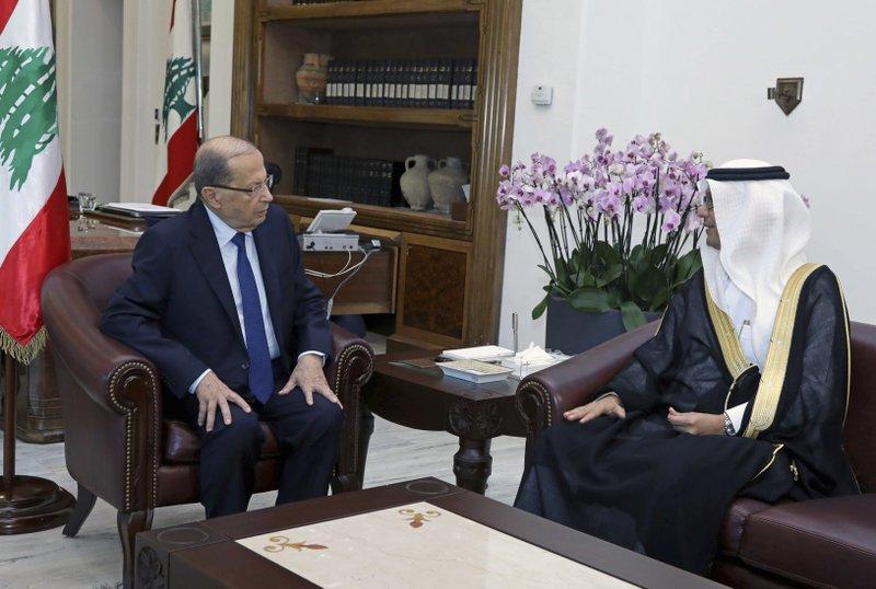 Walid al-Bukha, Michel Aoun