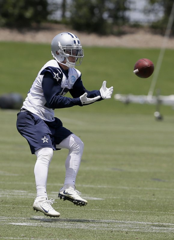 In This Tuesday, June 13, 2017, Photo, Dallas Cowboys Receiver Ryan Switzer  Catches A Pass During An NFL Football Practice At The Teamu0027s Training  Facility ...