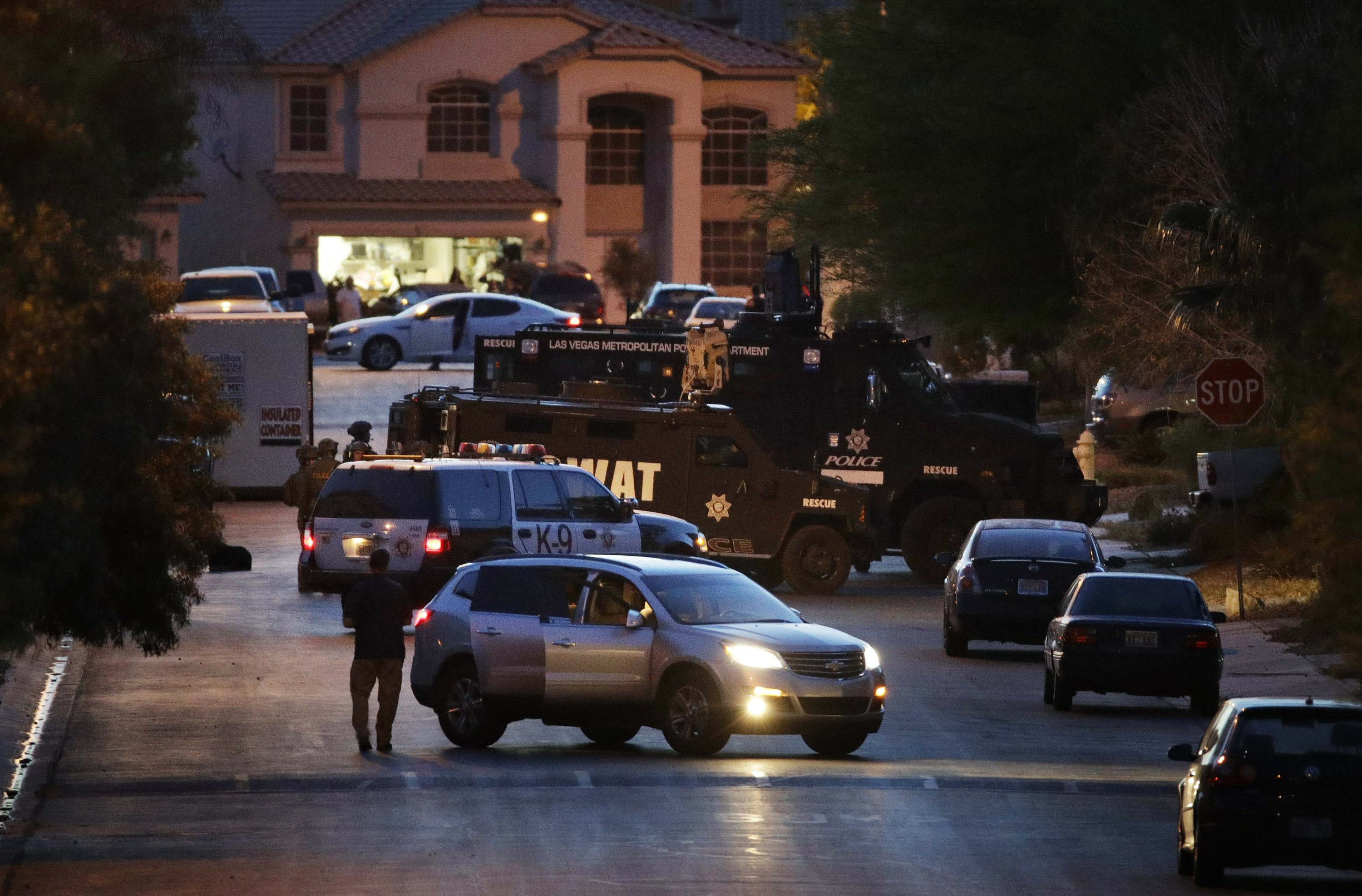Nevada man arrested on terrorism, weapon charges in Vegas