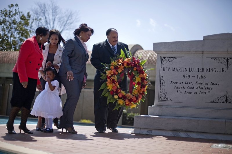 Christine King Farris, Rev. Bernice King, Martin Luther King III, Arndrea King, Yolanda King