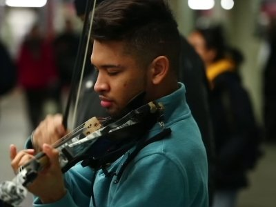 Venezuelan Violinist On New Life After Protests