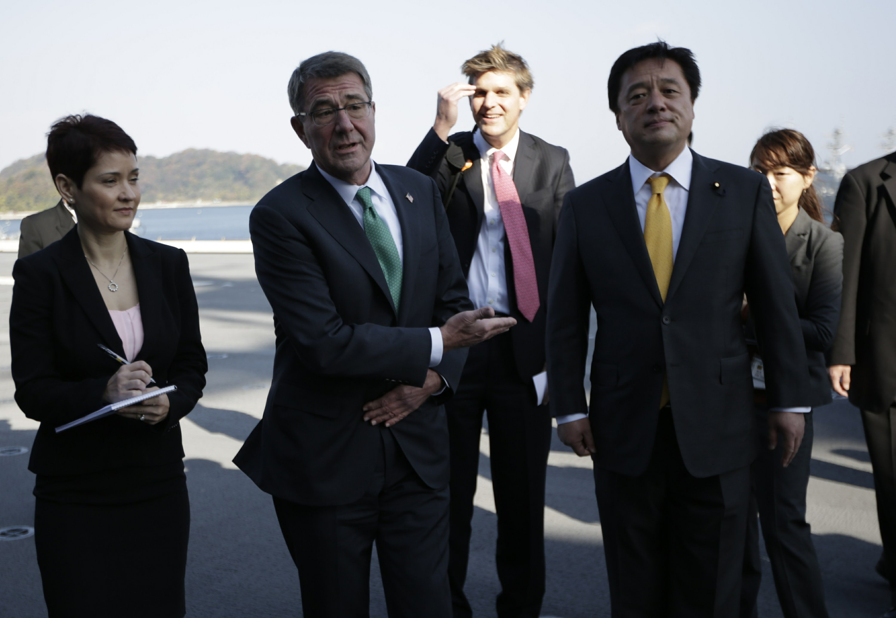 Carter: US to return Okinawa land to Japanese government