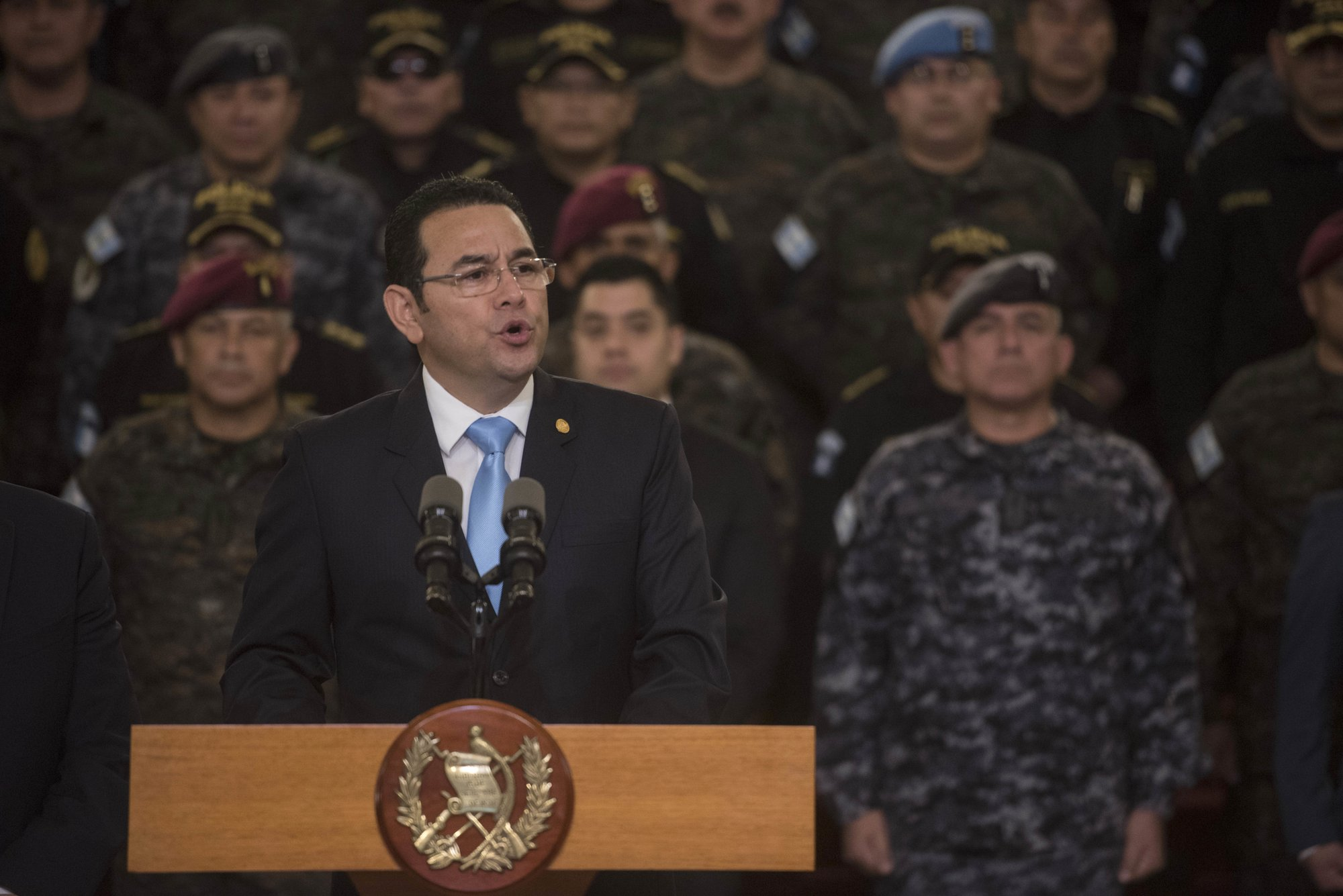 The Latest: Guatemala military surrounds HQ of UN commission