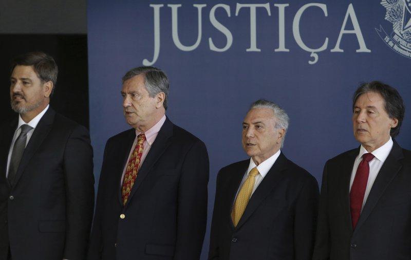 Michel Temer, Eunicio Oliveira, Torquato Jardim, Fernando Segovia