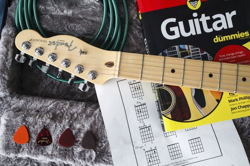 Learning to play guitar at age 50