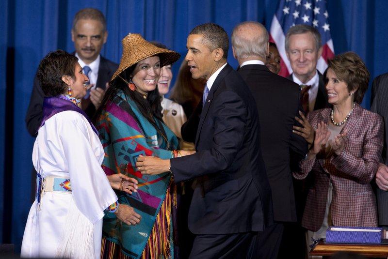Barack Obama, Diane Millich, Deborah Parker