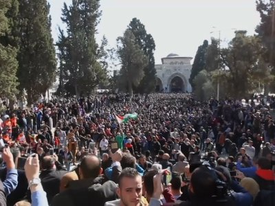 Tensions Rise Outside Jerusalem's Damascus Gate