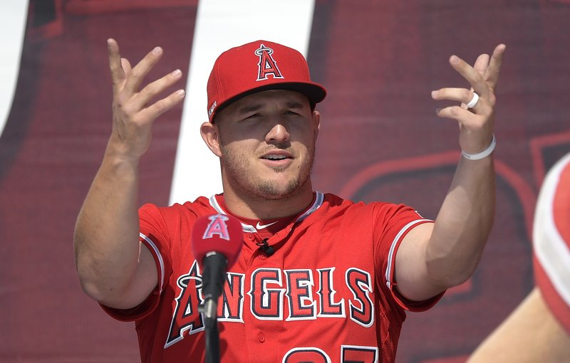 16e0201c5 Mike Trout says he's