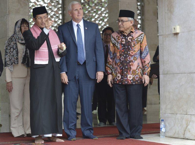 Mike Pence, Muhammad Muzammil Basyuni, Nasaruddin Umar