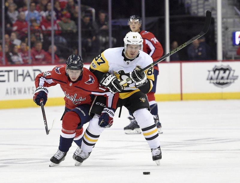 Sidney Crosby, Jakub Vrana