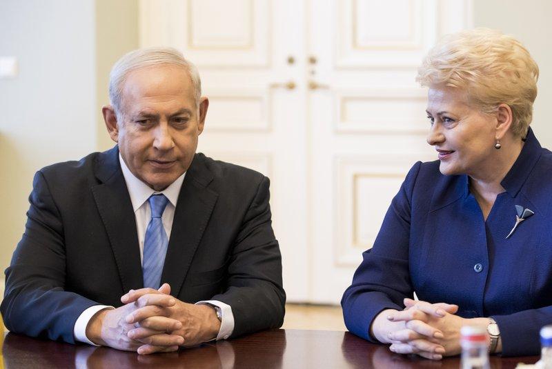 Benjamin Netanyahu, Dalia Grybauskaite