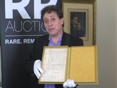 Historic Martin Luther Letter Up for Auction