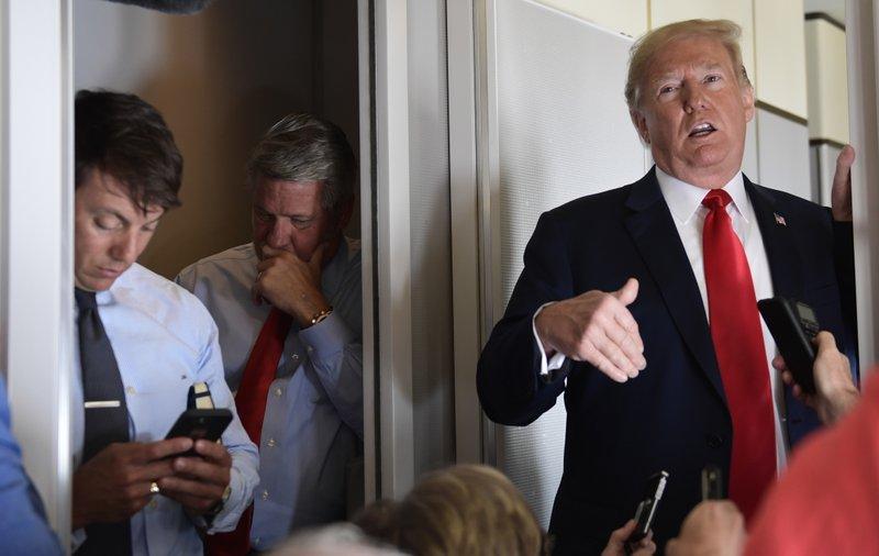 Donald Trump, Bill Shine, Hogan Gidley