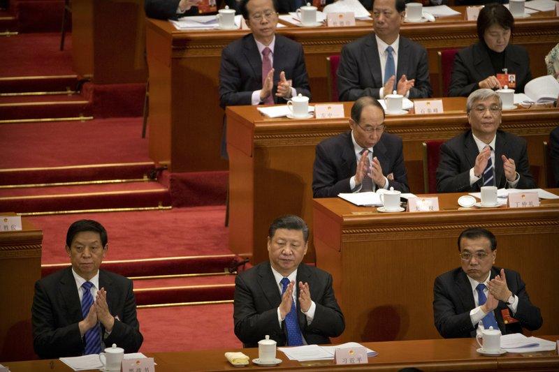 Xi Jinping, Li Keqiang, Li Zhanshu