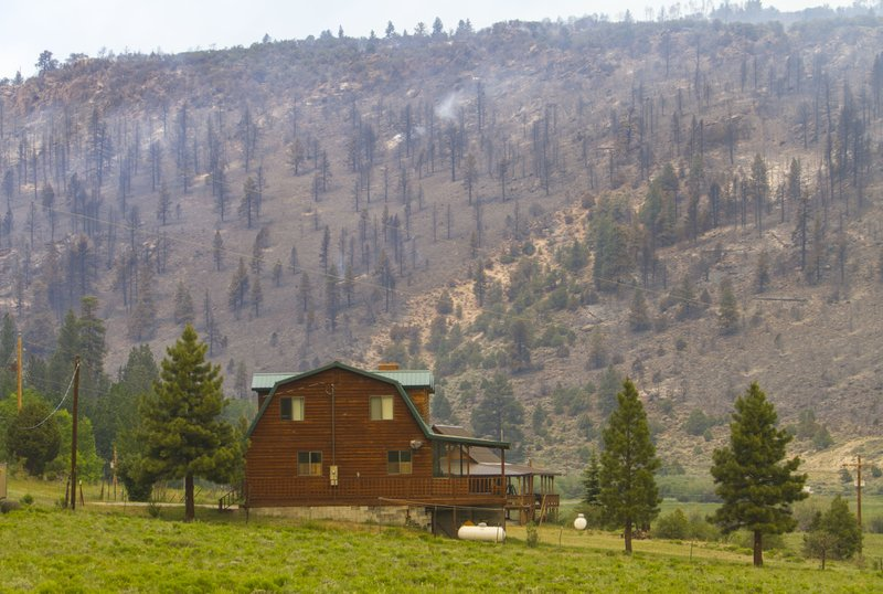 Utah wildfire grows to largest active fire in US