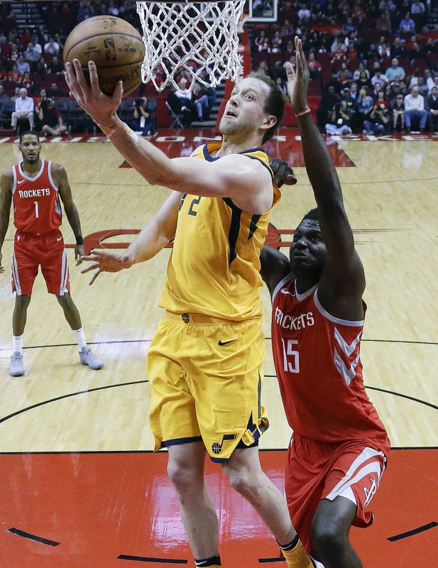 Joe Ingles, Clint Capela