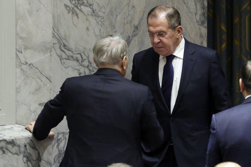 Nursultan Nazarbayev, Sergei Lavrov