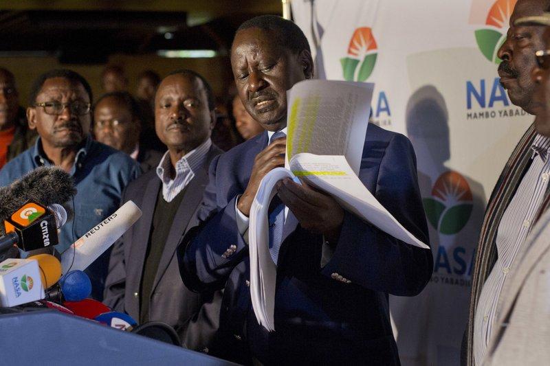 Uhuru Kenyatta, Raila Odinga