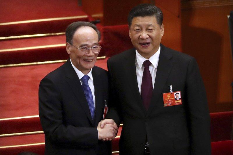 Xi Jinping, Wang Qishan