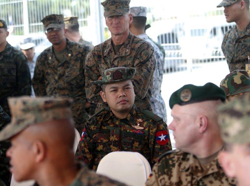 Myanmar's presence downplayed at Thai-US military exercise