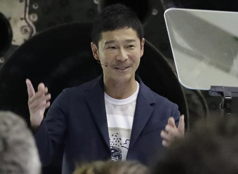 A Japanese billionaire is saying