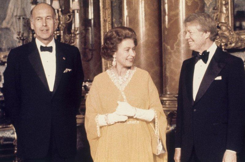 Jimmy Carter Queen Elizabeth II, Valerie Giscar d''Estaing