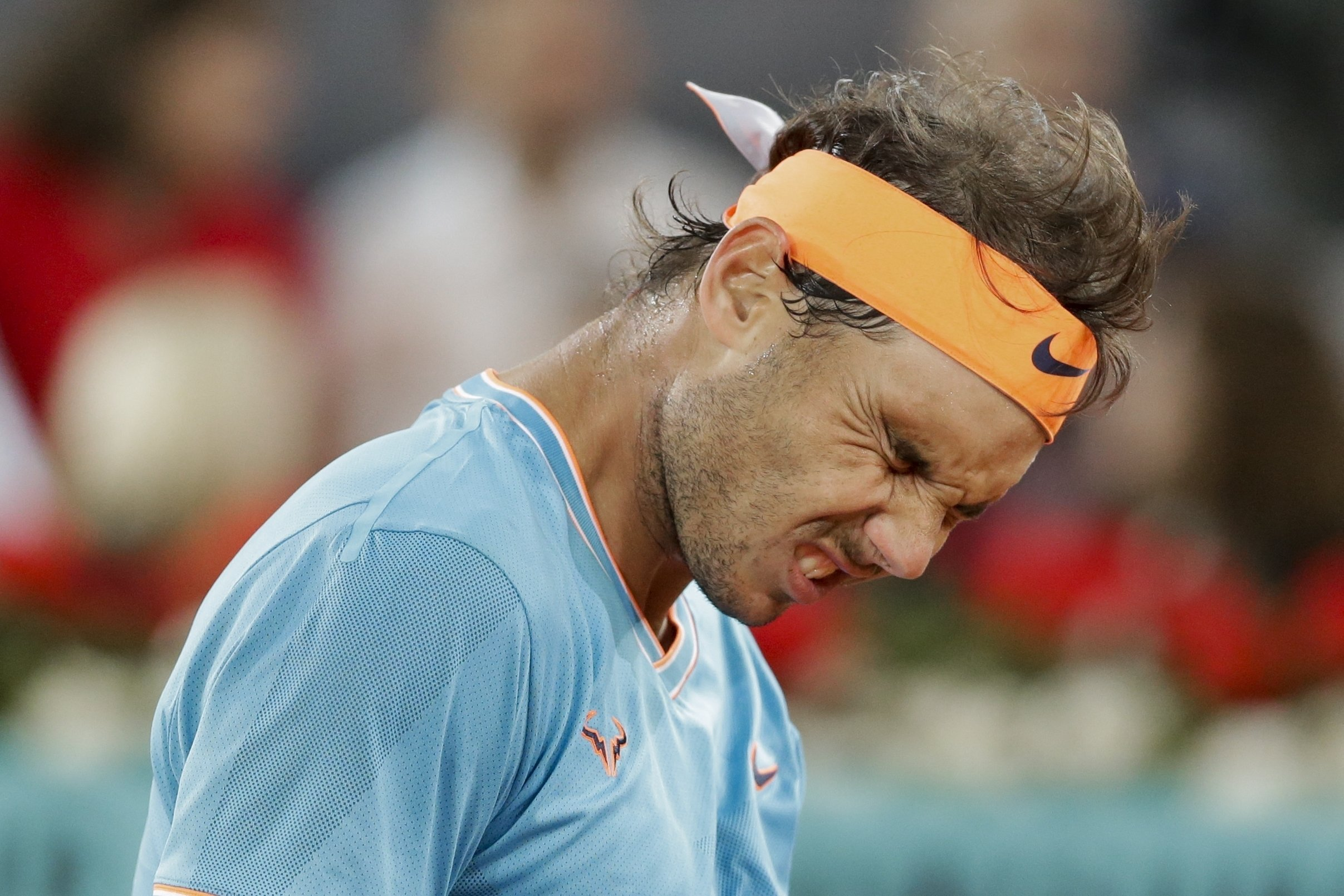 Nadal Loses To Tsitsipas In Madrid As Clay Slump Continues