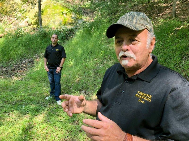 Treasure hunters challenge FBI over dig for Civil War gold