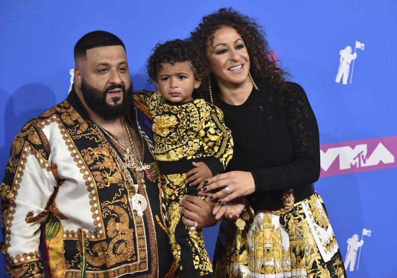 DJ Khaled, Asahd Tuck Khaled, Nicole Tuck