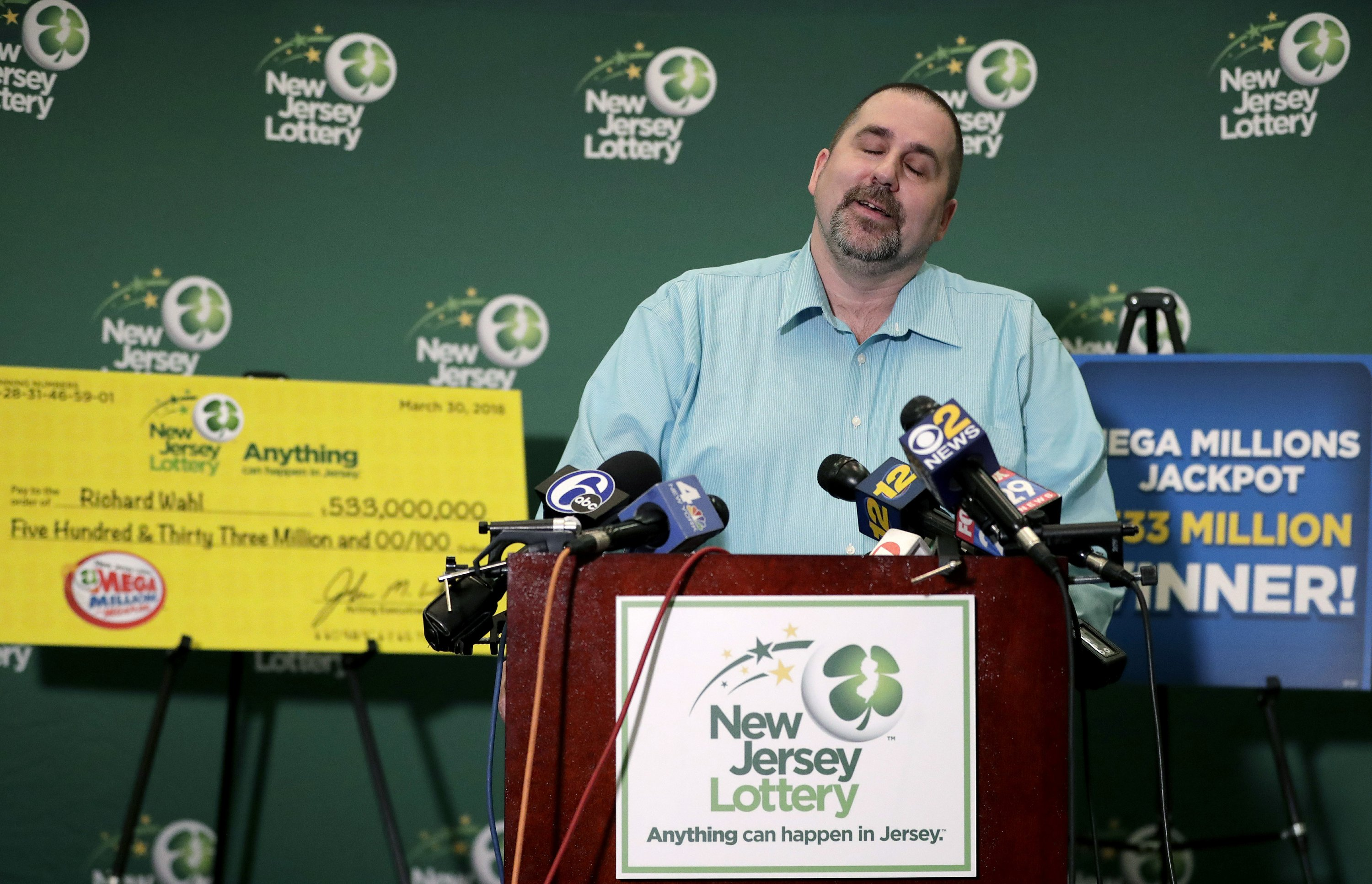 Mega Millions Winner Is New Jersey Food Production Manager