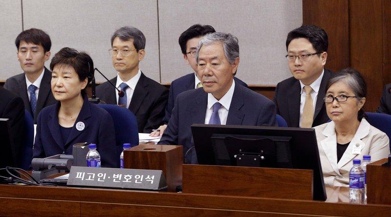Park Geun-hye, Choi Soon-sil