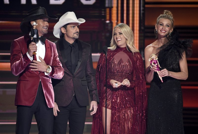 Tim McGraw, Brad Paisley, Carrie Underwood, Faith Hill speak
