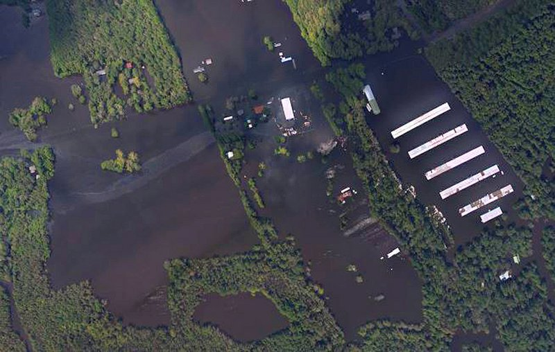 Flood Shuts Down N.C. Power Plant, Sweeps Waste Into River