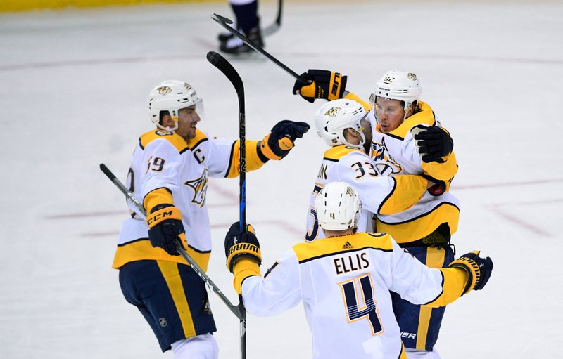 Banner night  Preds beat Caps to clinch NHL s best record b40b24f88994