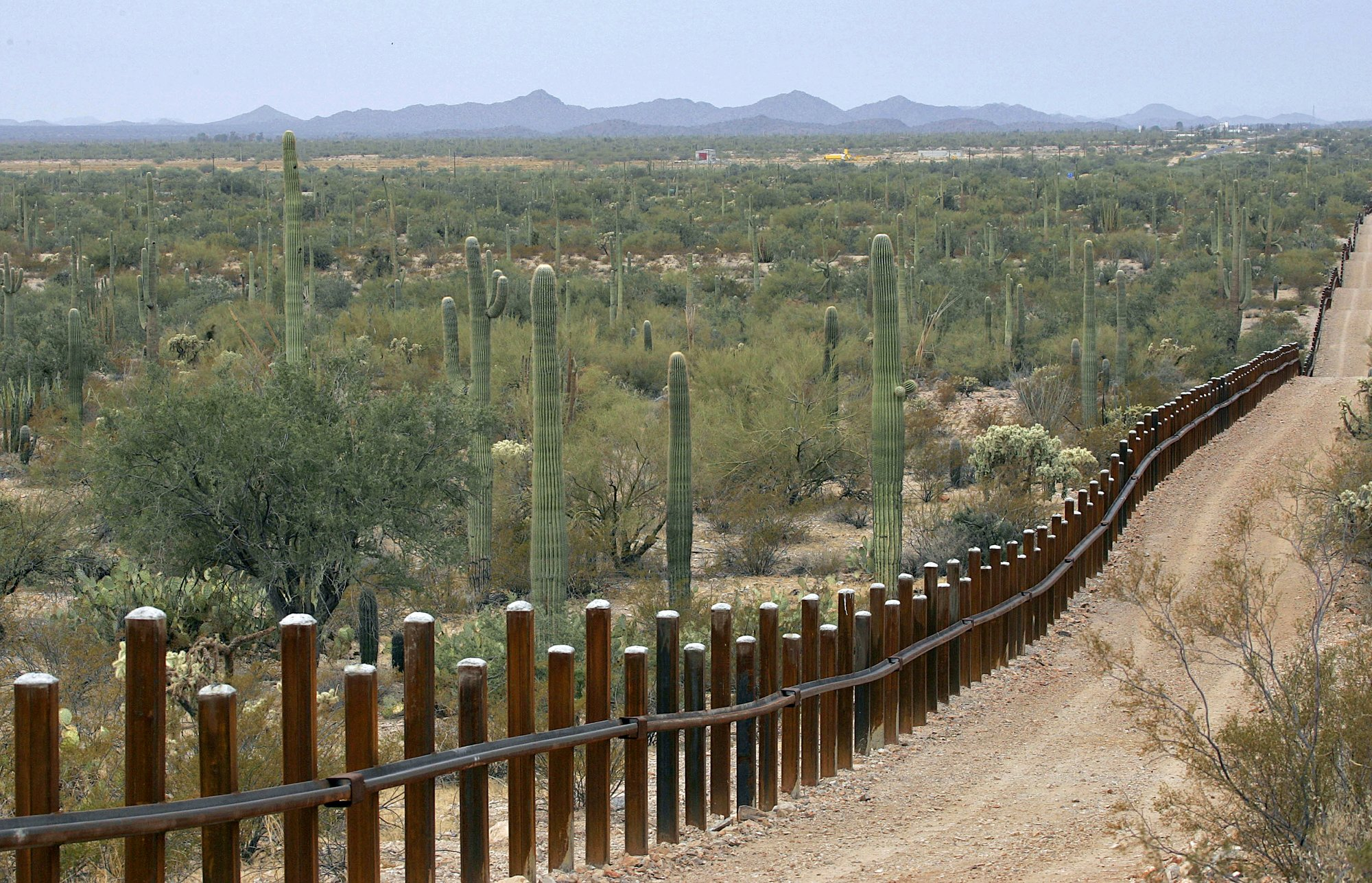 Border wall to go up in national monument, wildlife refuge