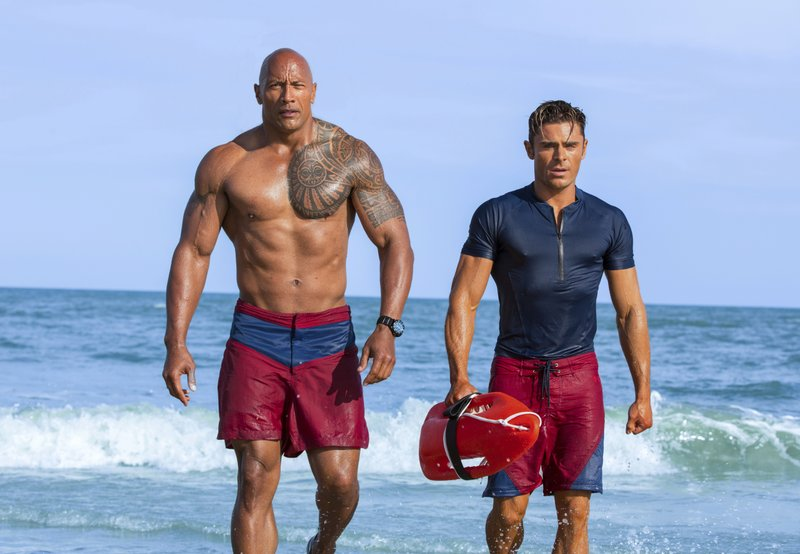 Baywatch S Dwayne Johnson Just Wants To Entertain You